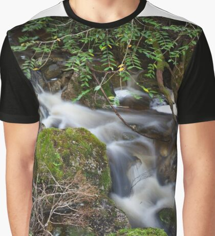 Crater Falls Graphic T-Shirt