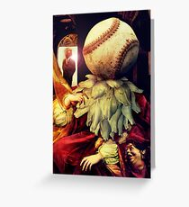First Strike (Collaboration with Andy Nawroski)  Greeting Card