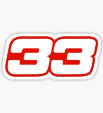 33 Sticker