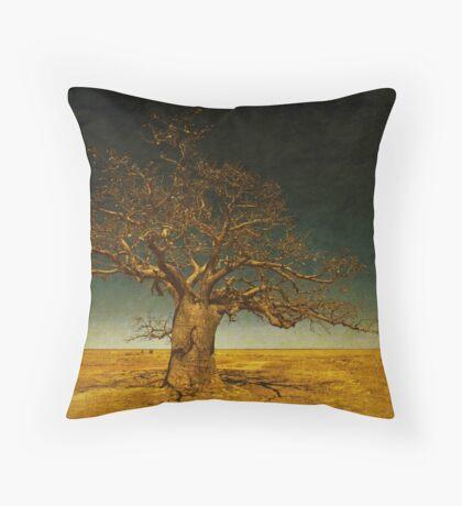 The Dinner Tree Throw Pillow