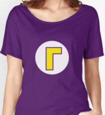 Waluigi Symbol Women's Relaxed Fit T-Shirt
