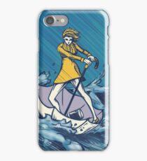 Morton Salt Girl iPhone Case/Skin