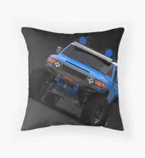 FJ CRUISER BLUE Throw Pillow