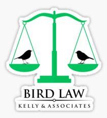 bird law Sticker