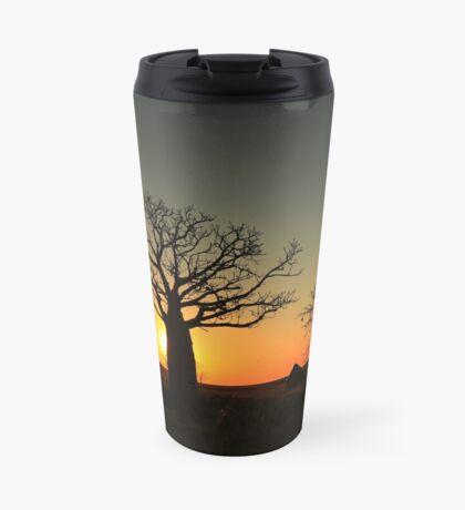 Sunset on the flats Travel Mug