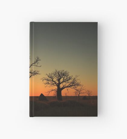 Sunset on the flats Hardcover Journal