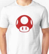 Super Mario Bros Mushroom Logo T-Shirt