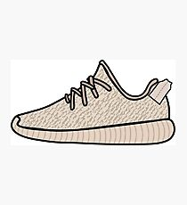 Yeezy Boost 350 Oxford Tan Photographic Print