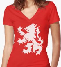 The Boro Women's Fitted V-Neck T-Shirt
