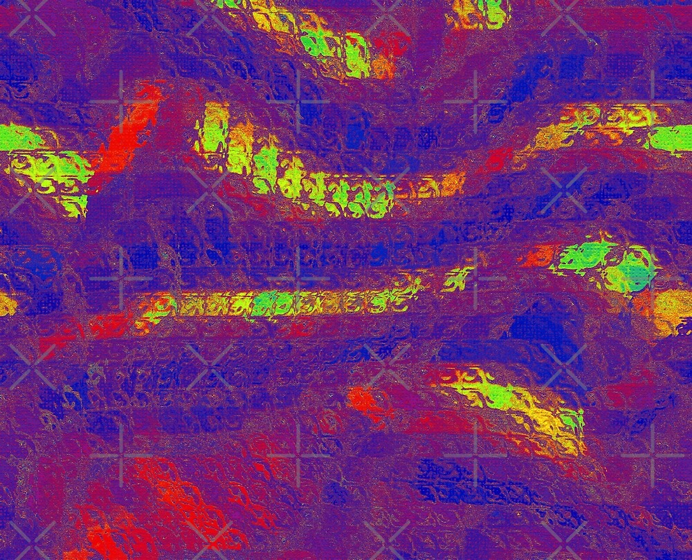 Multi Color Abstract by Buckwhite
