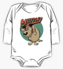 Muttley The Dog Long Sleeve Baby One-Piece