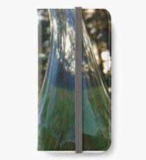 Distorted bottle iPhone Wallet/Case/Skin