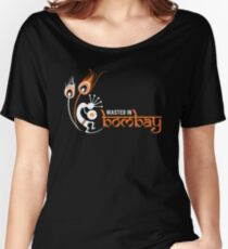 Wasted In Bombay - Orange Logo Promo Women's Relaxed Fit T-Shirt