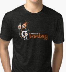 Wasted In Bombay - Orange Logo Promo Tri-blend T-Shirt