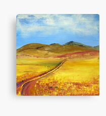 A road in Namibia Canvas Print