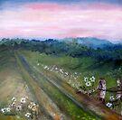 Landscape in oil by Elizabeth Kendall