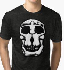 DALI SKULL Tri-blend T-Shirt