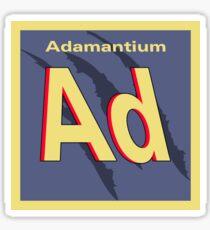Adamantium Periodic Element Sticker