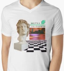 Macintosh Plus - Floral Shoppe Men's V-Neck T-Shirt