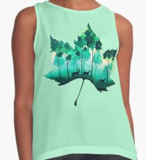 Forest Leaf Contrast Tank