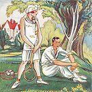 Art Deco Illustration 1929 by Kawka