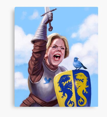 Knight Elizabeth Warren Canvas Print