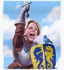 Knight Elizabeth Warren Poster