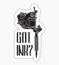 Tattoo Machine Sticker