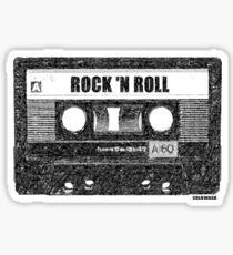 ROCK n' ROLL CASSETTE Sticker