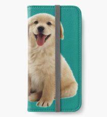 Golden Retriever iPhone Wallet