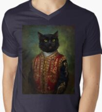 Hermitage Court Moor in casual uniform  Men's V-Neck T-Shirt