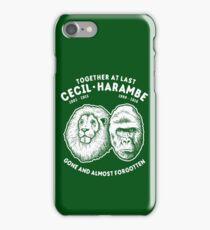 Cecil Harambe Memorial T-Shirt iPhone Case/Skin