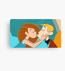 Kim and Ron Possible Canvas Print