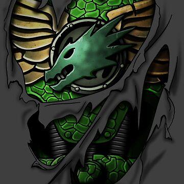 Salamanders Armor by heavyplasma