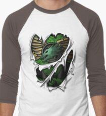 Salamanders Armor Men's Baseball ¾ T-Shirt