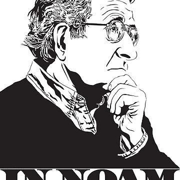 In Noam We Trust - Noam Chomsky Design - Liberal Activist, Author, Professor - Gift for Liberal and Political Science Majors by SolissClothing