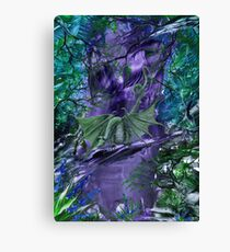 The Forest Dragon Canvas Print