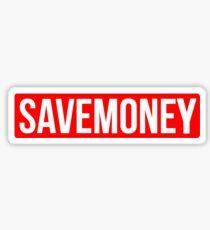 Vic Mensa Save Money Logo  Sticker