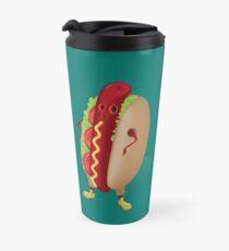Happy Hotdog Travel Mug