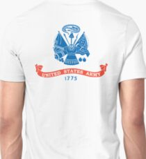 US ARMY, Military, USA, United States Army, American, 1775, Official flag, America,  T-Shirt