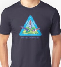 MISSILE COMMAND - ATARI CLASSIC PATCH T-Shirt