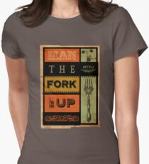 Man The Fork Up (MTFU) Women s Fitted T-Shirt 6b760df95