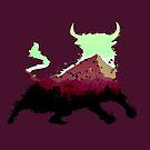 Mountain Bull by zachsymartsy