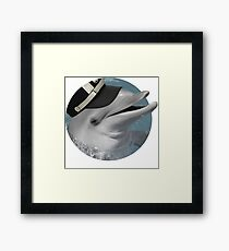 "Jotaro Dolphin ""Popping"" Framed Print"
