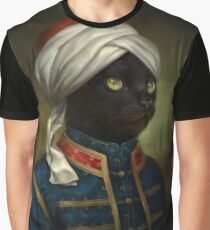 The Hermitage Court Moor Cat  Graphic T-Shirt
