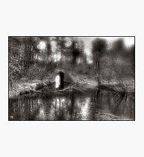 Aquaduct Monochrome Photographic Print