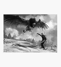 The beast of White Orchard Photographic Print