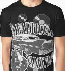 No Particular Place to Go - monotone Graphic T-Shirt
