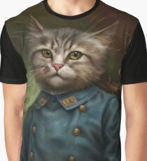 The Hermitage Court Confectioner Apprentice Cat  Graphic T-Shirt