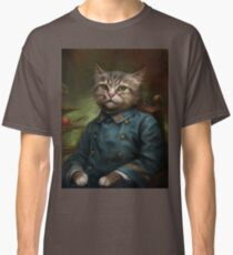 The Hermitage Court Confectioner Apprentice Cat  Classic T-Shirt